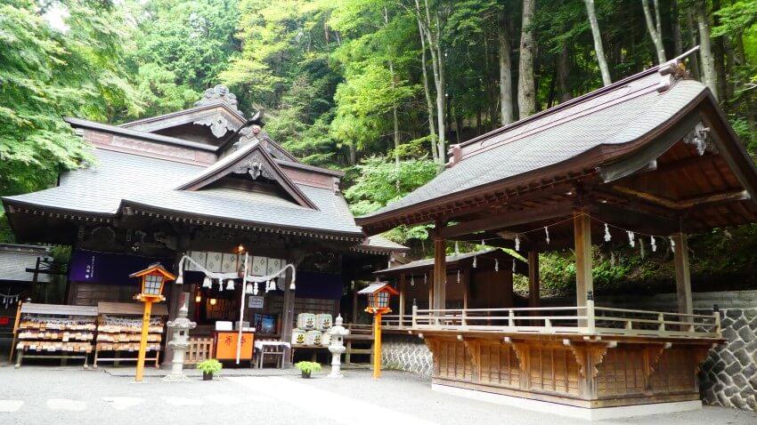 Arakura Sengen Shrine, tempel bij Mount Fuji