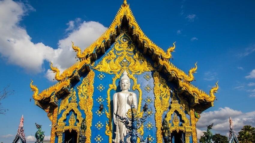 De blauwe Tempel van Chiang Rai