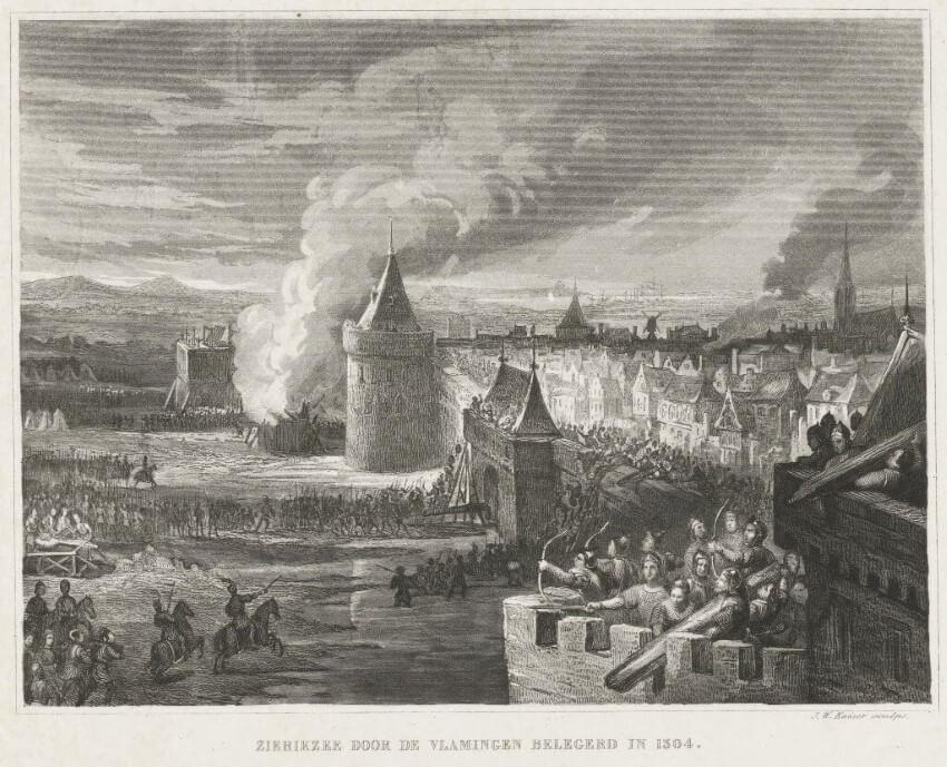 Geschiedenis van Zierikzee: de belegering in 1304
