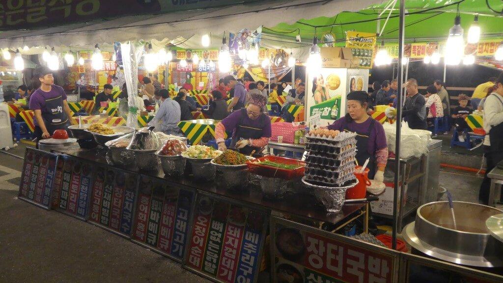 Eten & Drinken op het Andong Mask Dance Festival