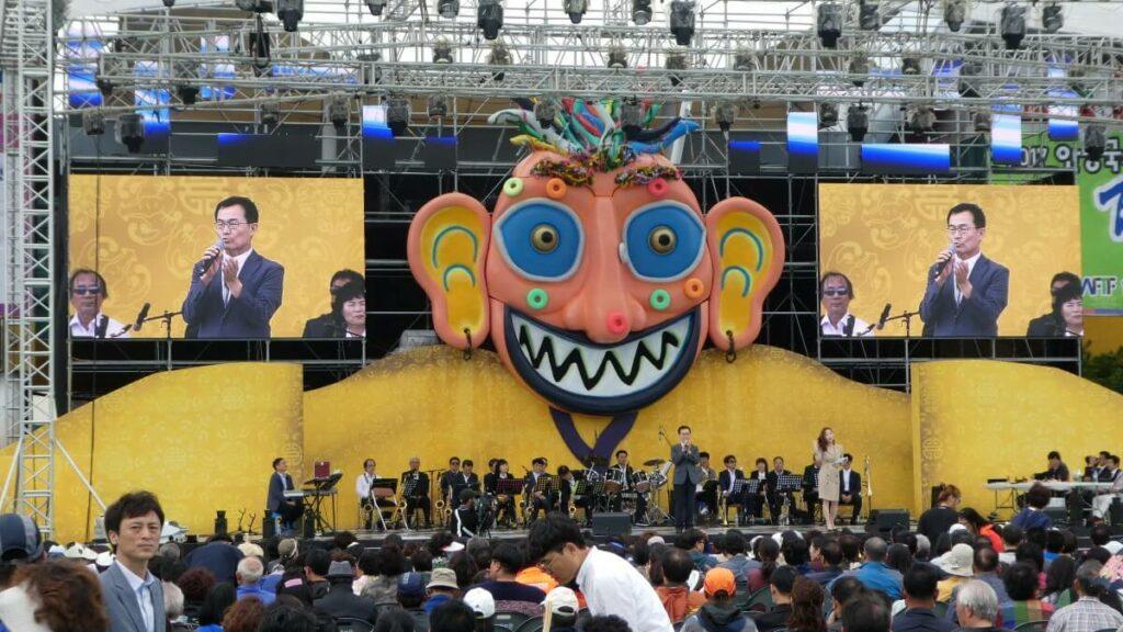Het Andong Mask Dance Festival