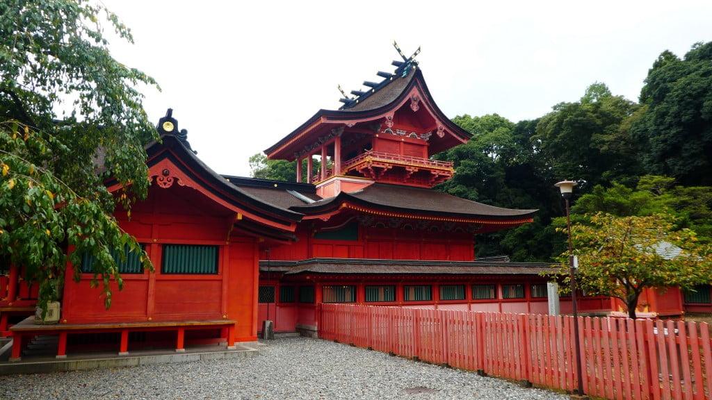 Gebedshal van de Gebedshal van Fujisan Sengen Shrine