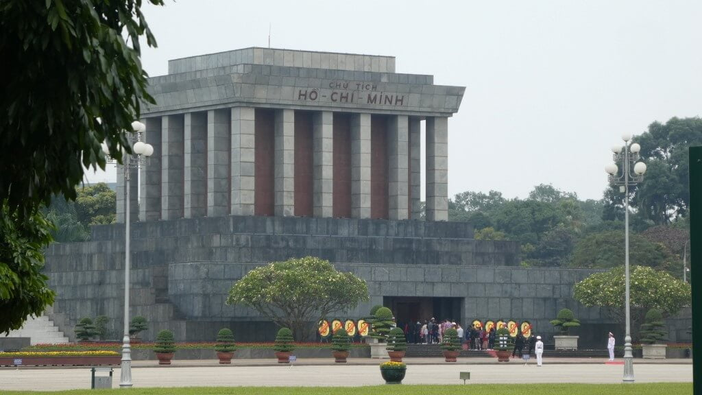 Mausoleum van Ho Chi Minh in Hanoi, Vietnam