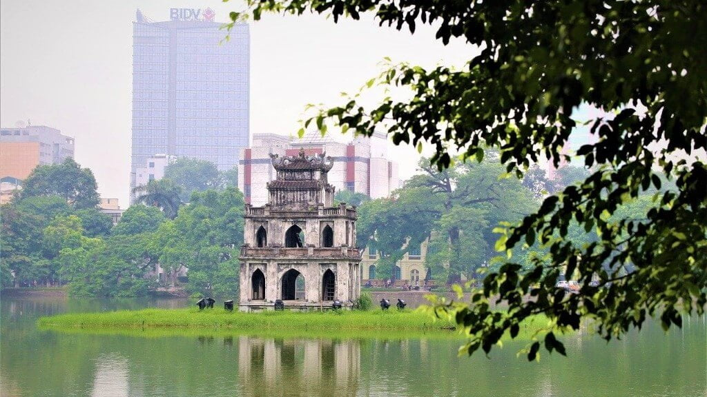 Hanoi Kiem Lake in Hanoi