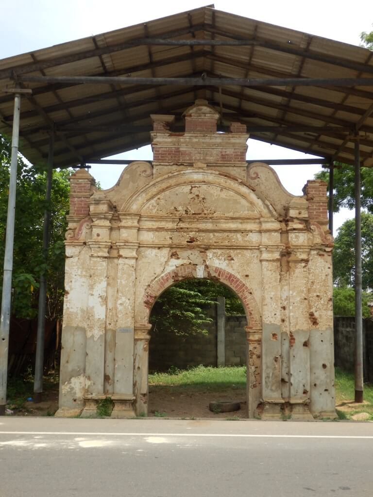 Cankili Thopu poort van het paleis