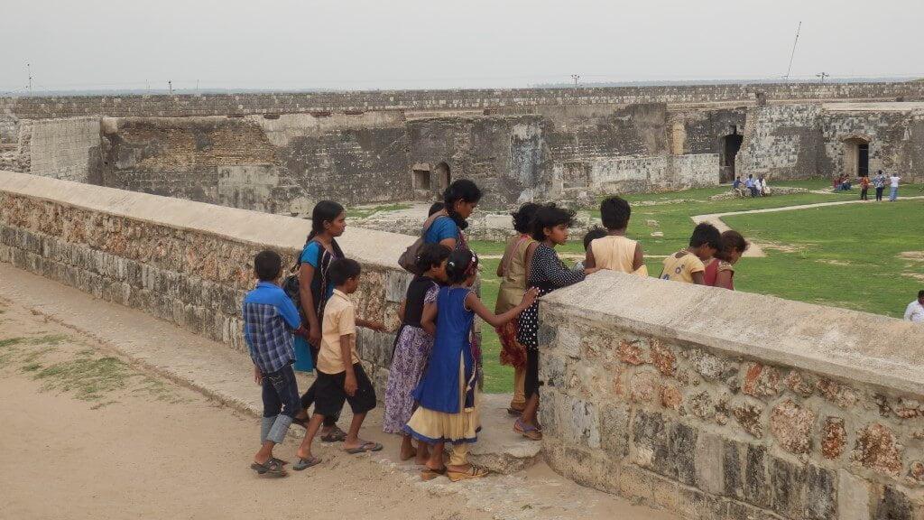 Jaffna Fort, ooit een Nederlands fort
