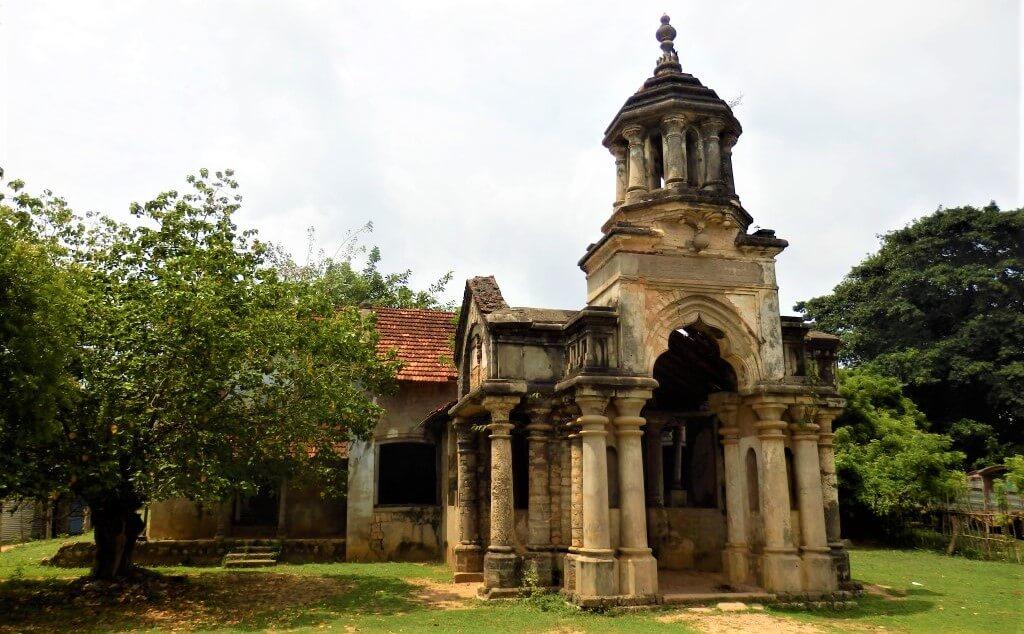 Sangiliyan Minister Residence in Jaffna, Sri Lanka