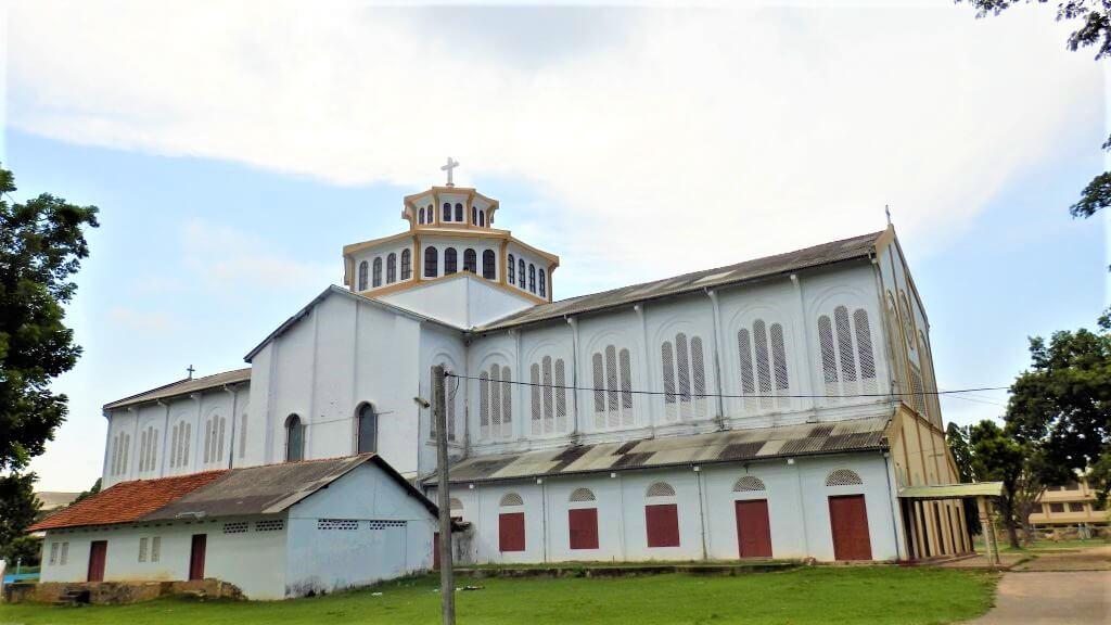 St. Marys Kathedraal in het noorden van Sri Lanka