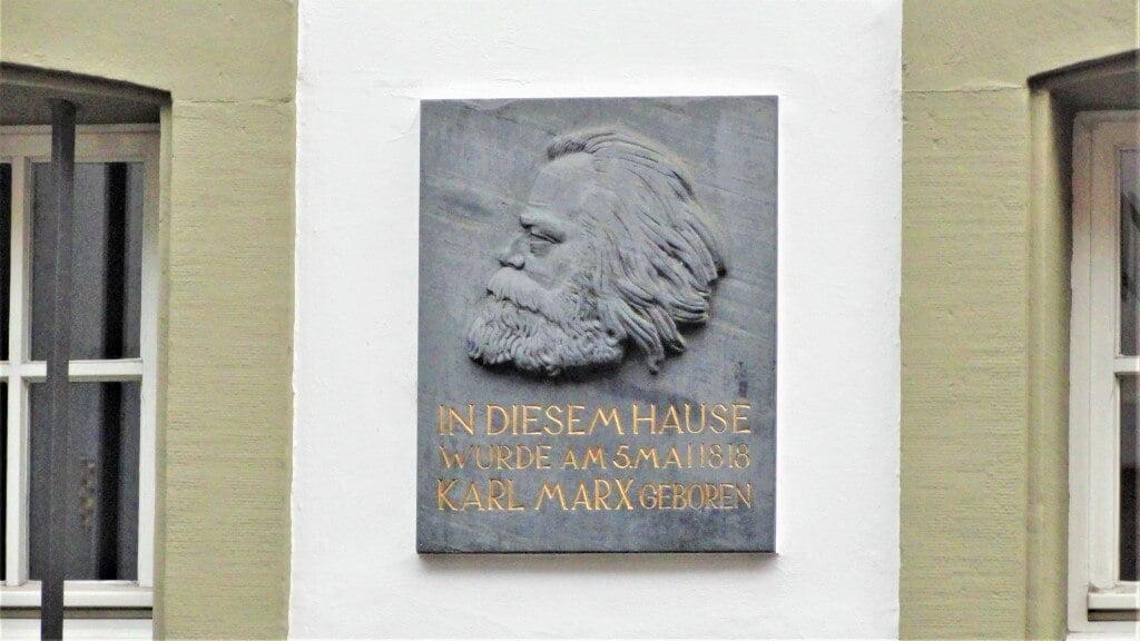 Het huis van Karl Marx in Trier