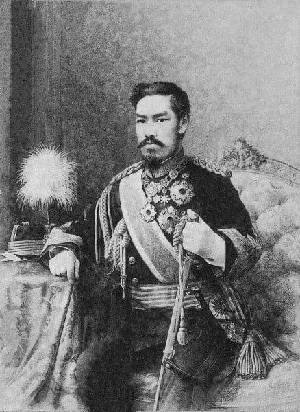 Keizer Meiji, Japan