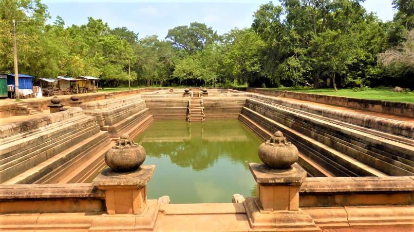 Kuttam Pokuna in Anuradhapura