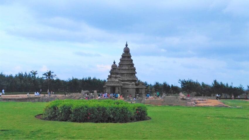 De Shore Tempel in Tamil Nadu