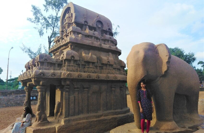 De Pancha Rathas in Mahabalipuram