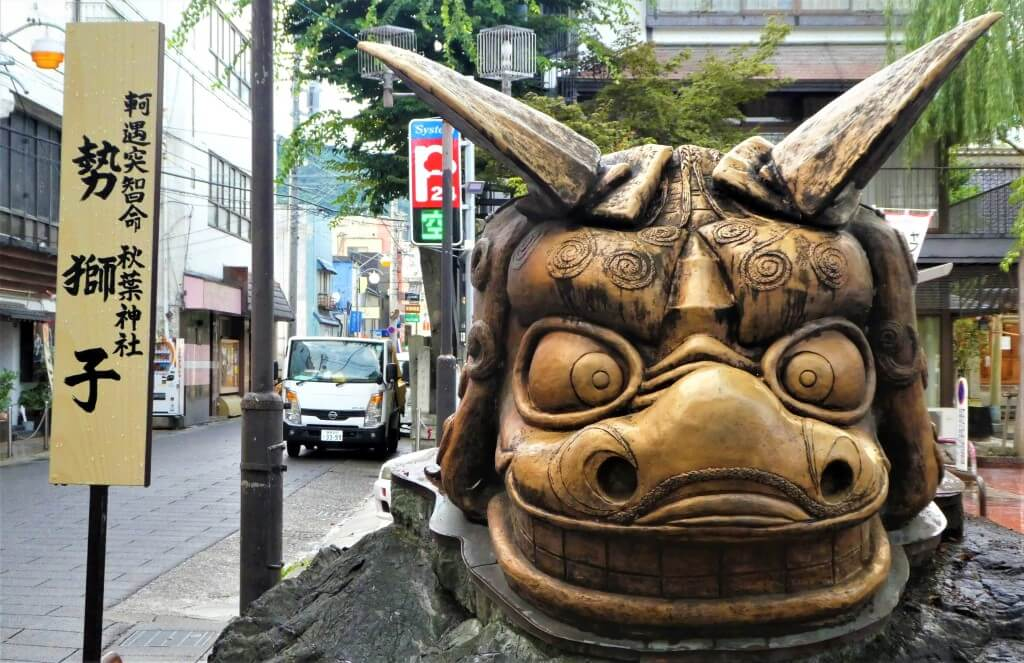 Een beeld in Nagano, Japan