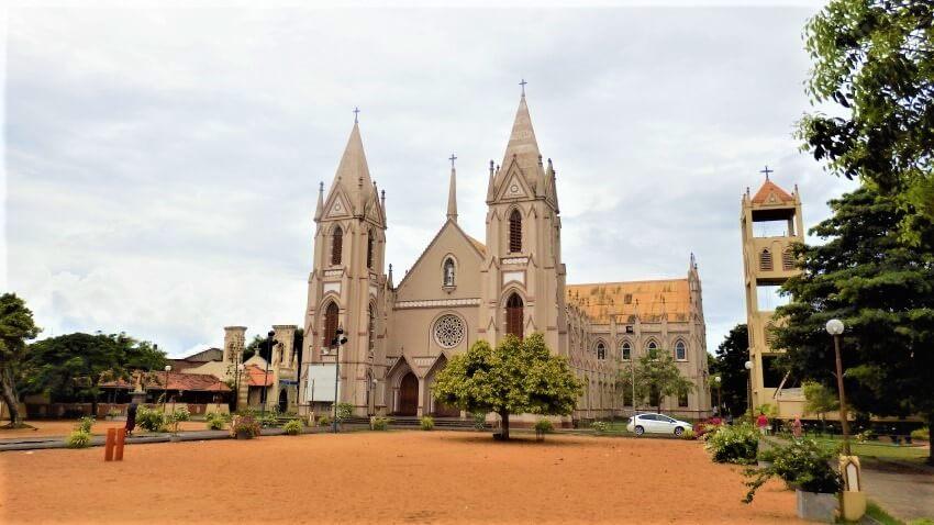 St. Sebastiaan Kerk in Negombo, Sri Lanka