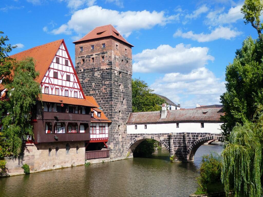 De oude binnenstad van Neurenberg