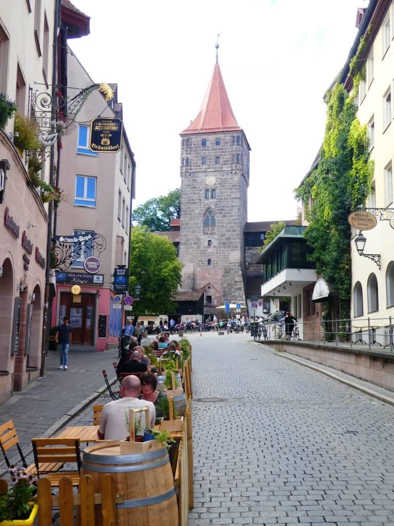 De brouwerij Altstadthof in Neurenberg