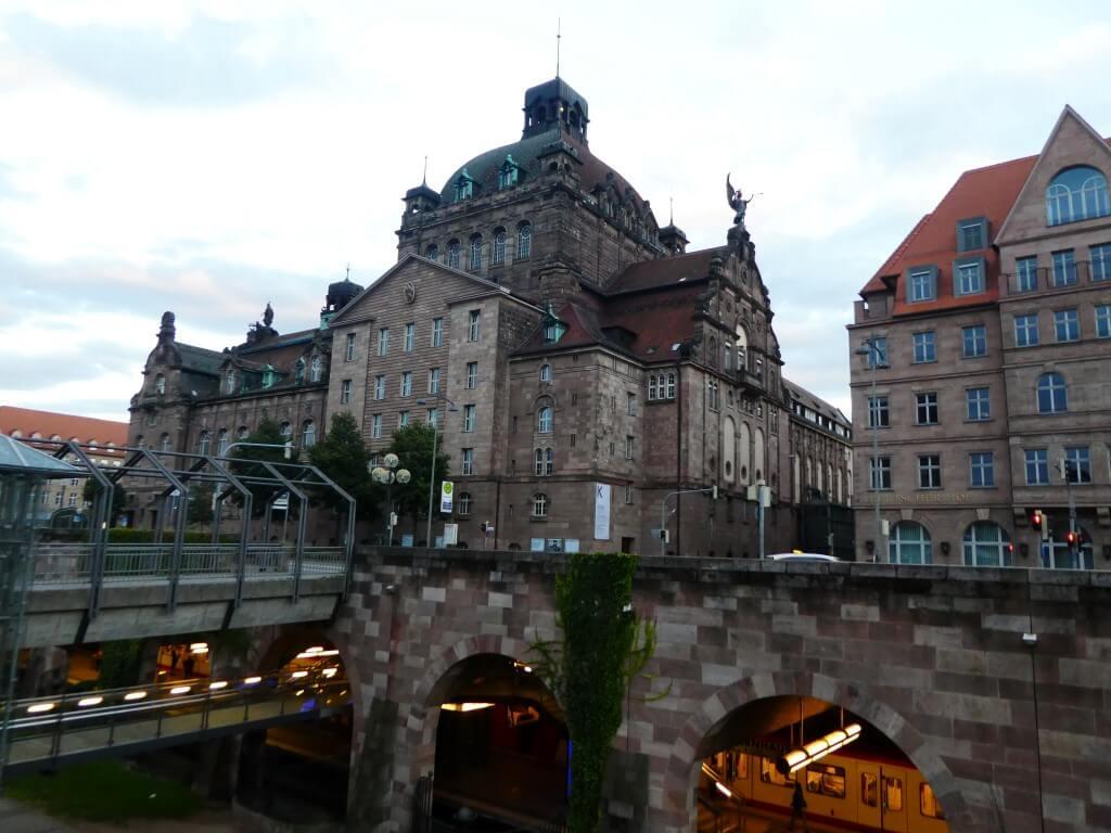 De metro in Neurenberg