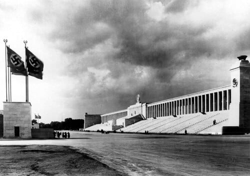 Zeppelin Tribune en de Reichsparteigelände