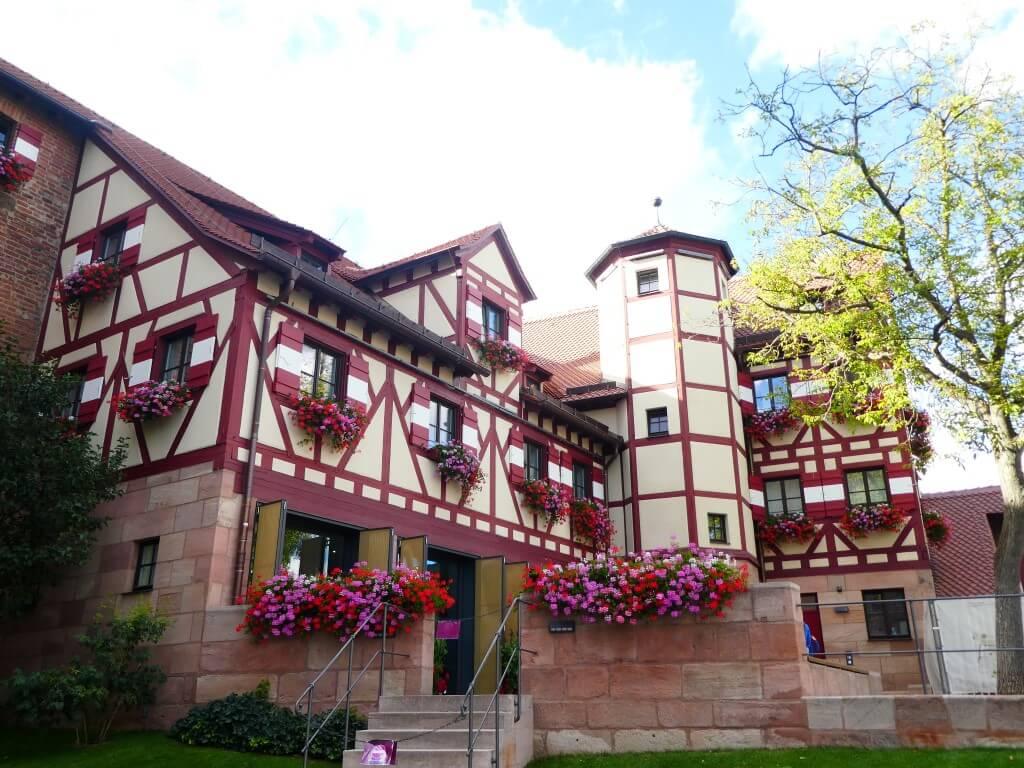 Het prachtige Nurnburger Burg in Duitsland
