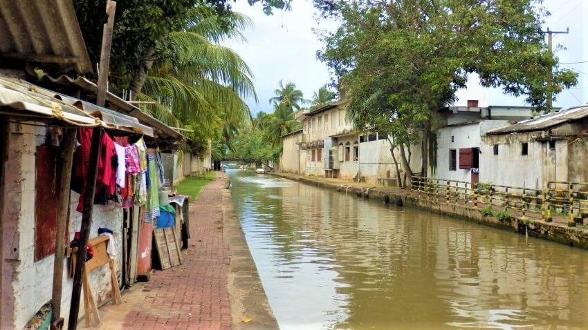 De Nederlandse kanalen in Negombo