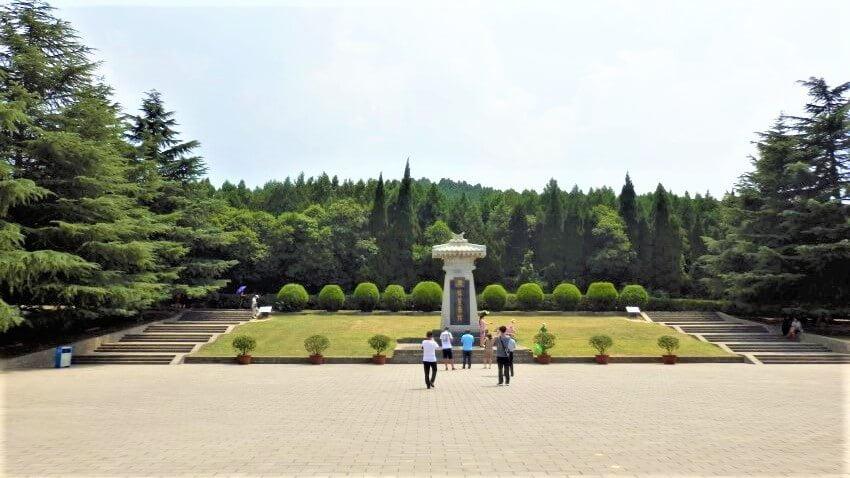 Mausoleum van keizer Qin Shi Huangdi in Xi'an