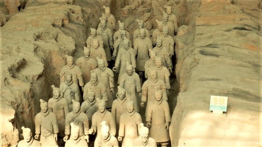 8000 soldaten van het Terracottaleger