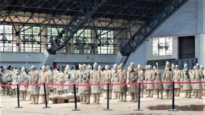 Grote zaal van het Terracottaleger, Xi'an
