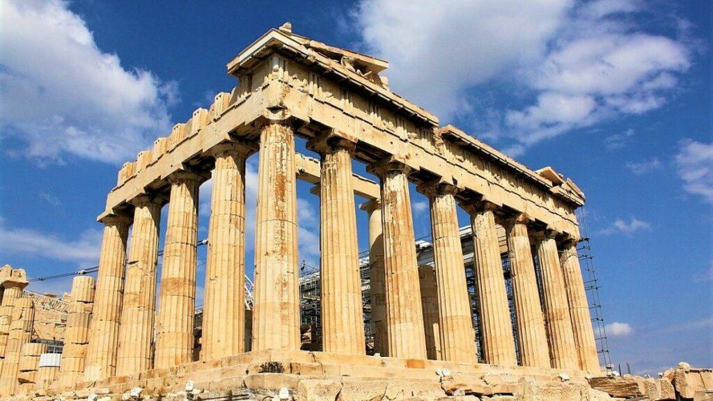 Geschiedenis van het oude Griekenland: de Akropolis in Athene