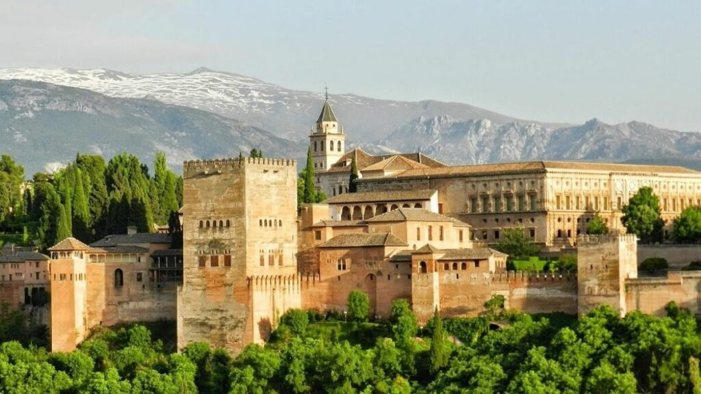 Geschiedenis van het Alhambra in Granada, Spanje