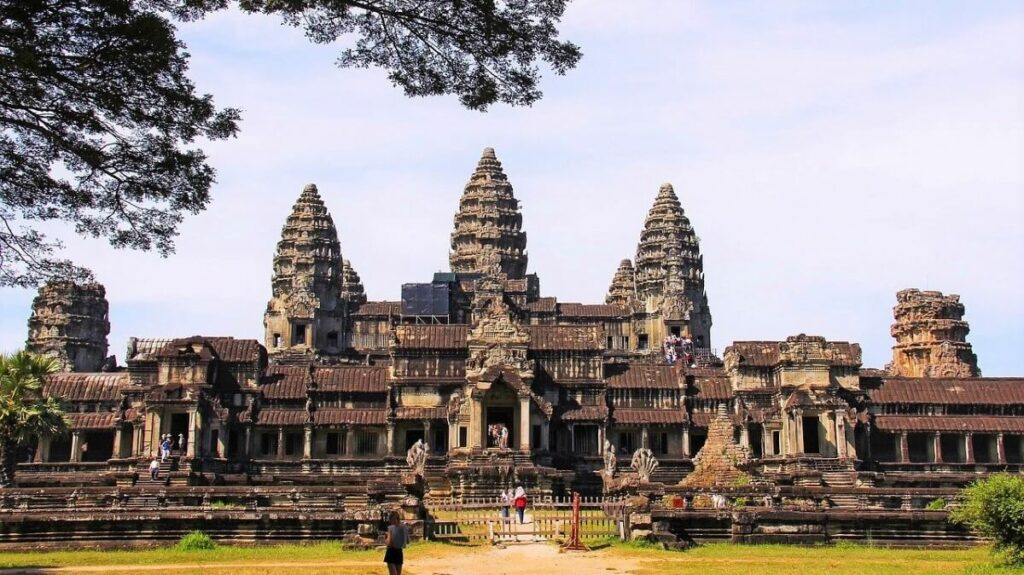 Bezienswaardigheden: Tempels van Angkor Wat bij Siem Reap, Cambodja