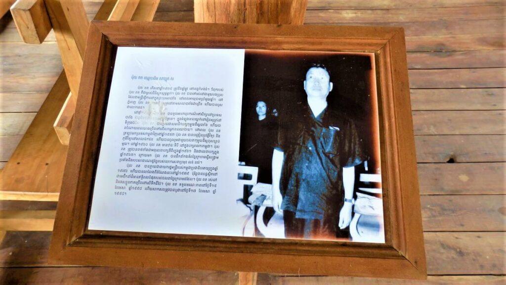 Pol Pot, oud leider van Cambodja