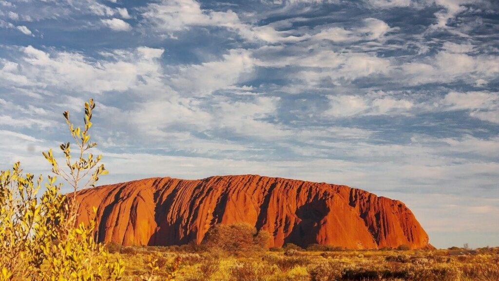 Geschiedenis van Ayers Rock in Centraal Australië
