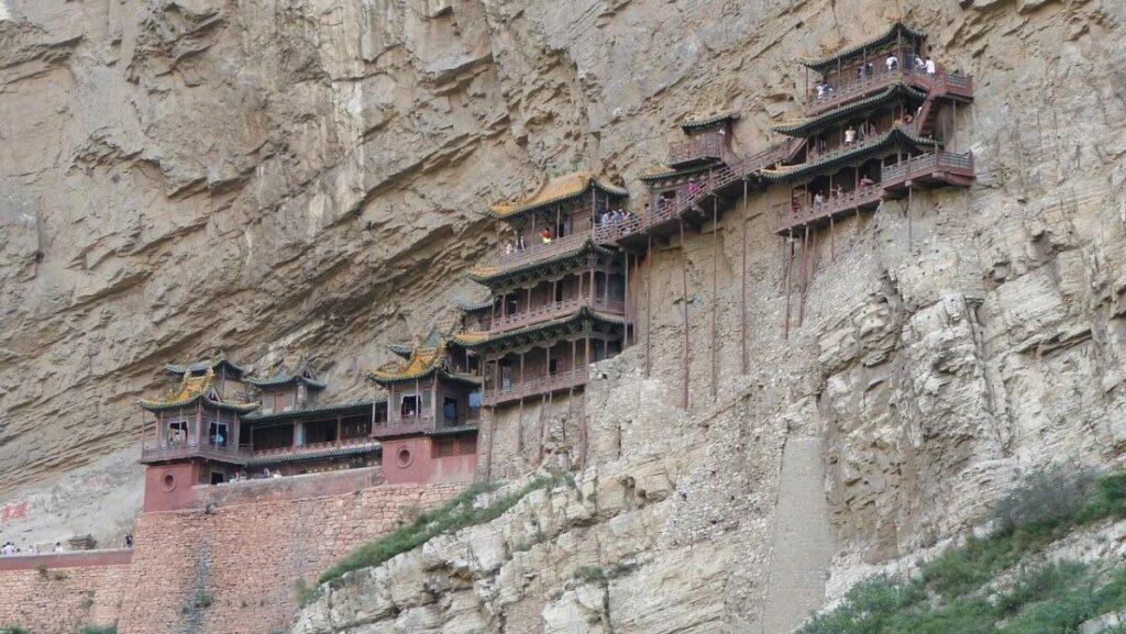 Bezienswaardigheden in China: Het hangende klooster bij Datong