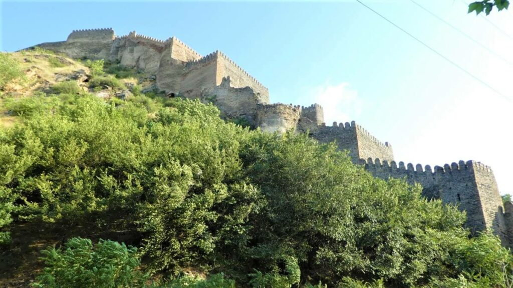 Tskhra-kara, de negen poorten van Gori fort