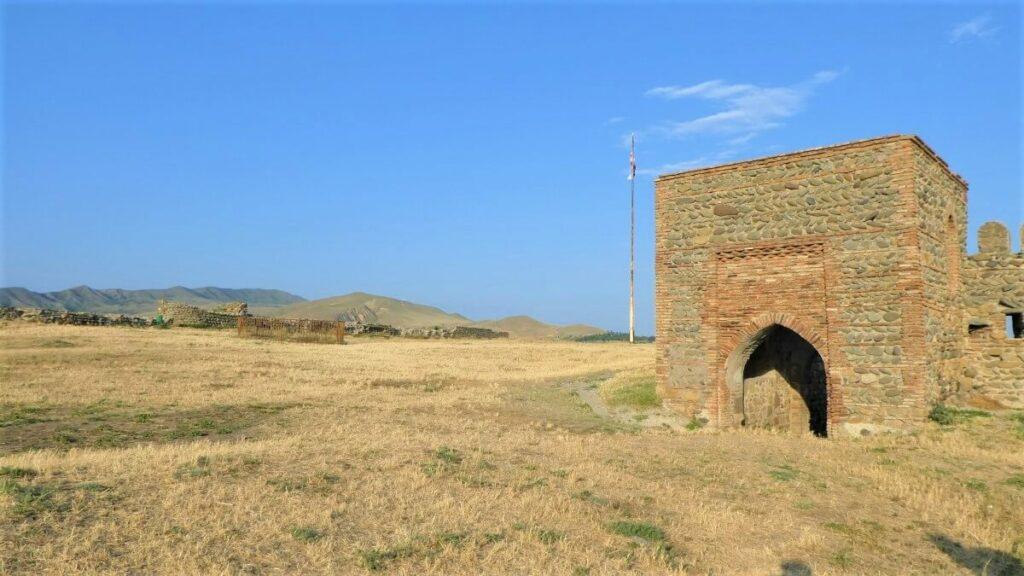 Een poort van het gori fort