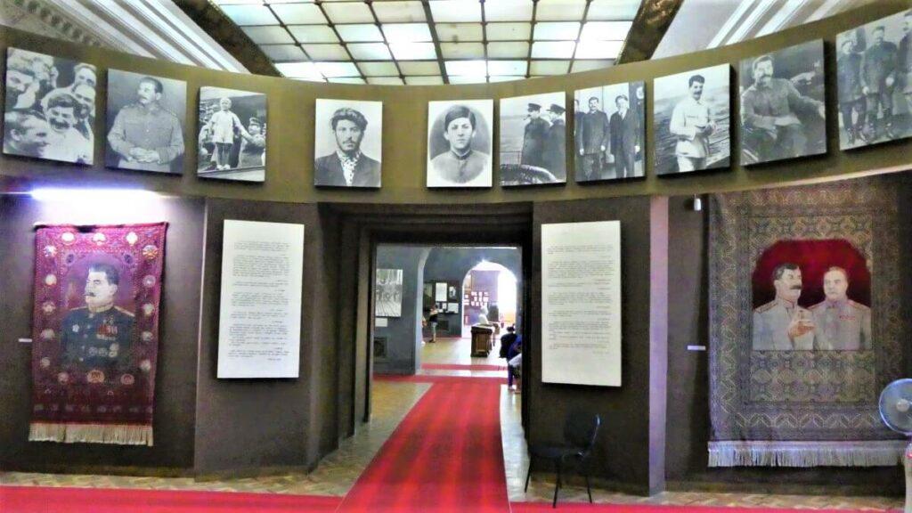 Het Stalin Museum in Gori