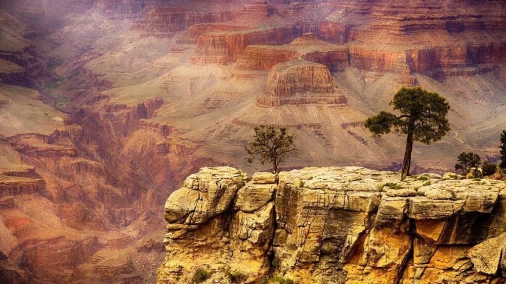 Geschiedenis van de Grand Canyon, Verenigde Staten