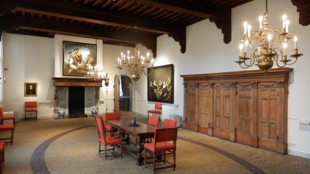 Kamer in het Frans Hals Museum