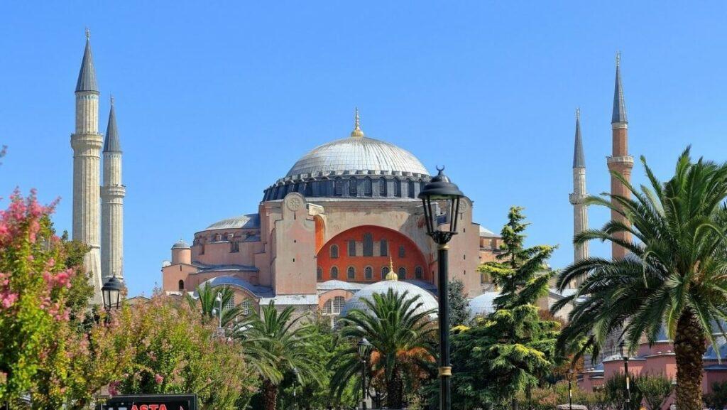 Geschiedenis van de Hagia Sophia in Istanboel, Turkije