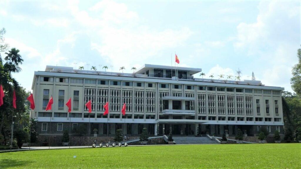 Bezienswaardigheden in Vietnam: Het herenigingspaleis in Ho Chi Minh City