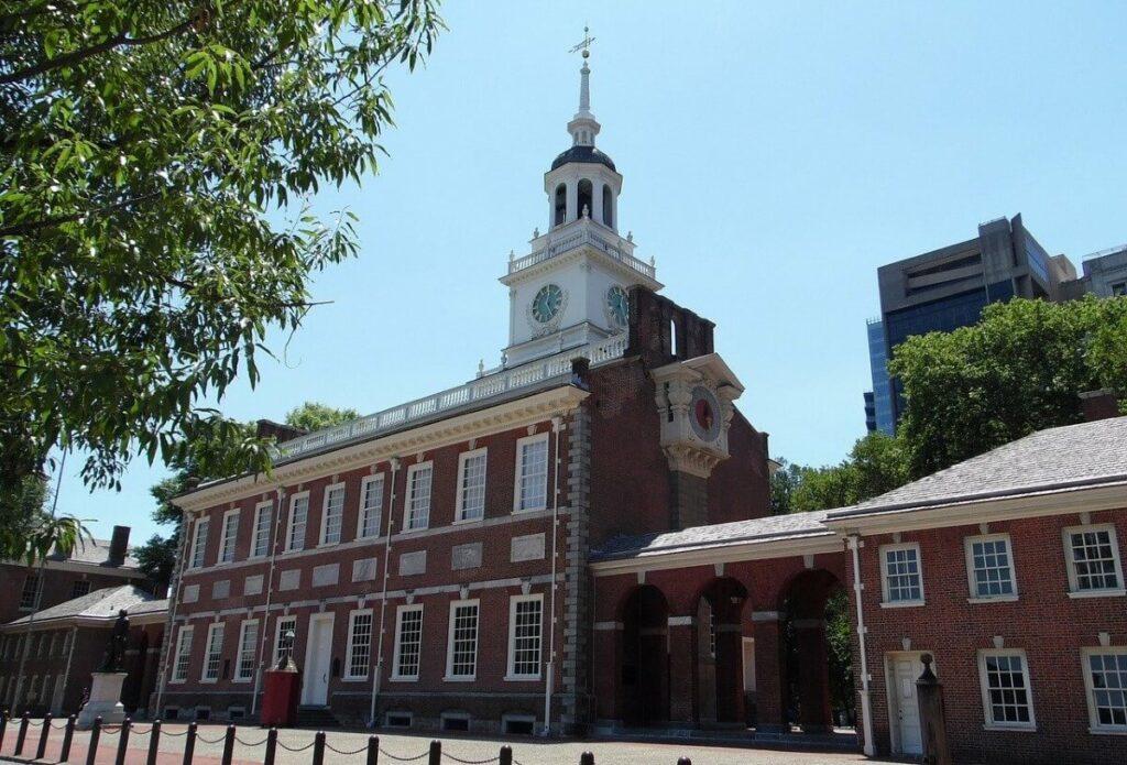 Bezienswaardigheden in Philadelphia: Independence Hall, Verenigde Staten