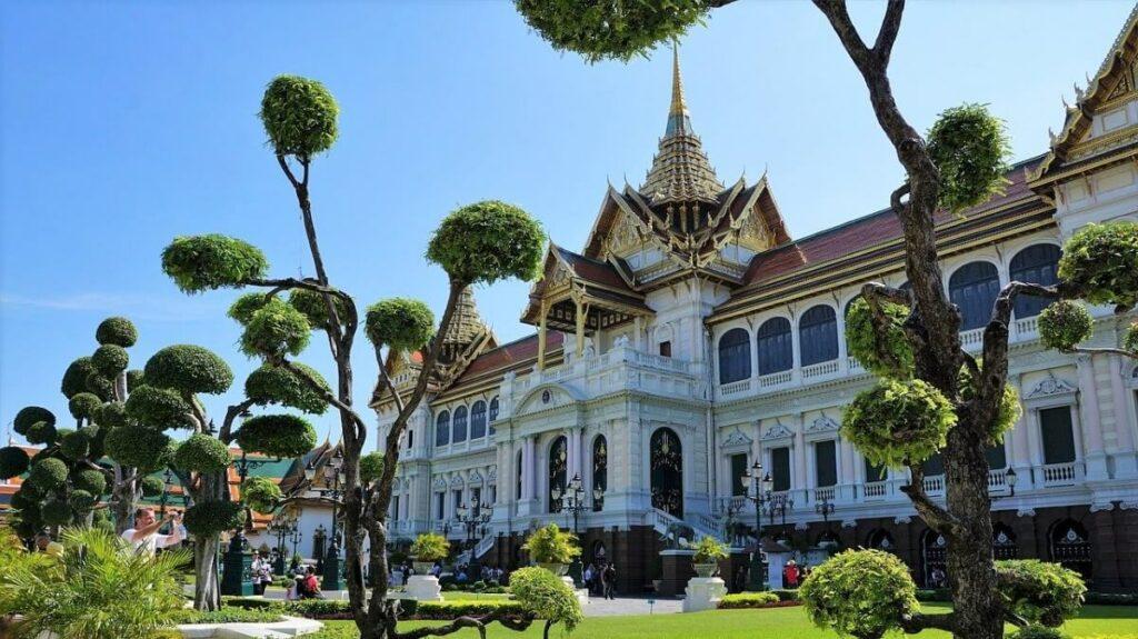 Bezienswaardigheden in Thailand: Het koninklijk paleis in Bangkok