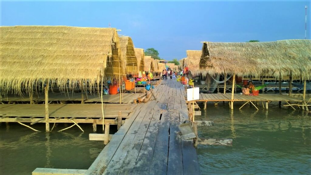Kampi Rapid bij Kratie, Cambodja
