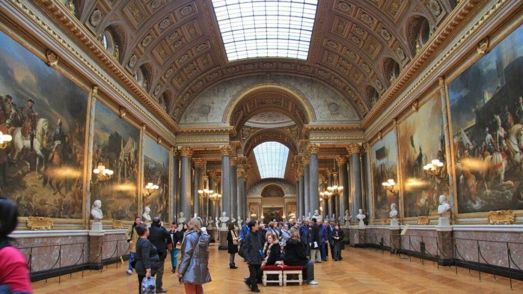 Geschiedenis van het paleis van Versailles nabij Parijs, Frankrijk