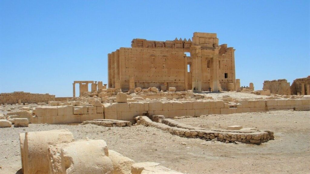 Geschiedenis van de oude stad Palmyra in Syrië