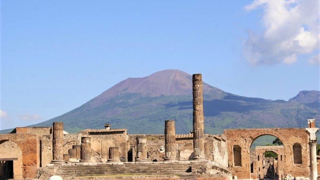 Bezienswaardigheden in Italië: De Romeinse stad Pompeï en de Vesuvius, Italië