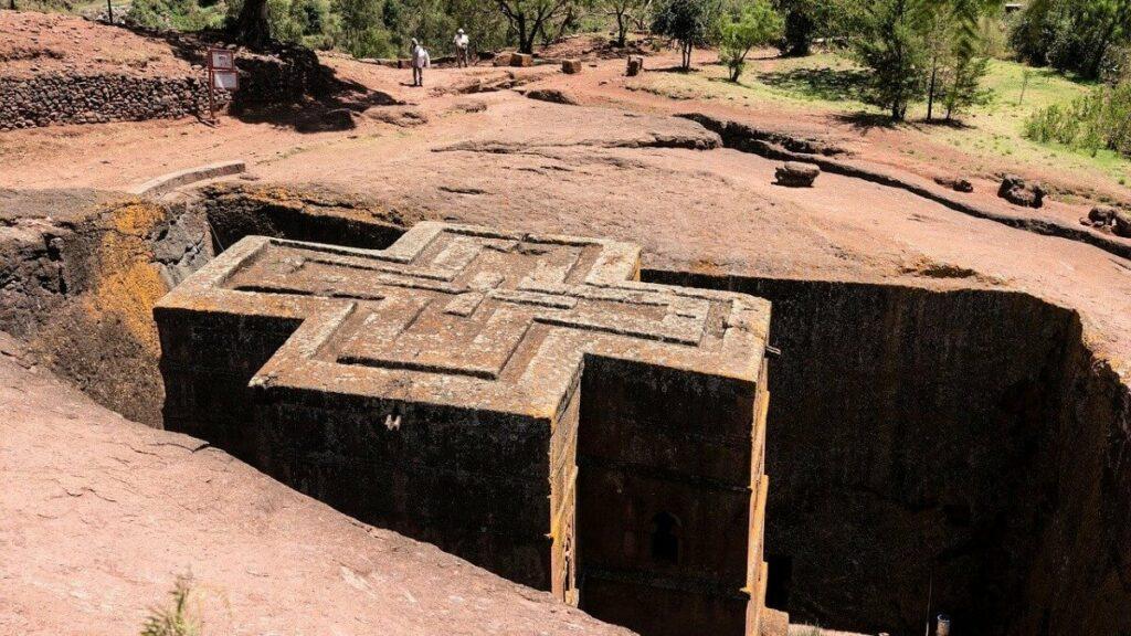 De rotskerken van Lalibela, Ethiopië