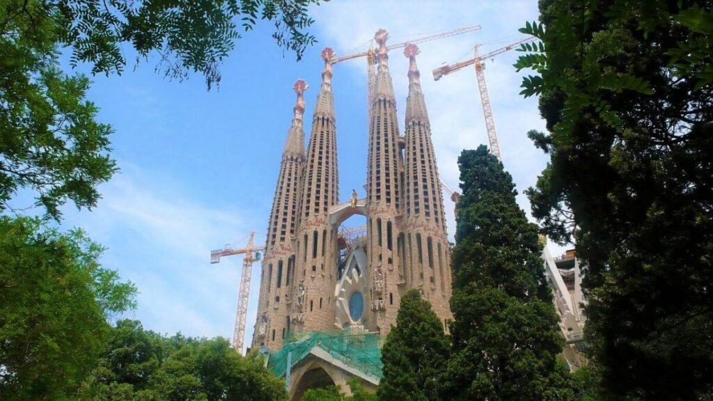 Geschiedenis van de Sagrada Familia in Barcelona, Spanje