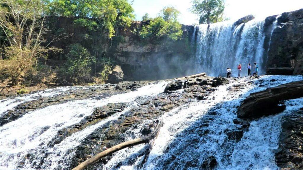 De Bou Sraa Falls in Cambodja